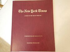 """2005 THE NEW YORK TIMES """"A HISTORY OF THE CHICAGO WHITE SOX"""" BOOK"""