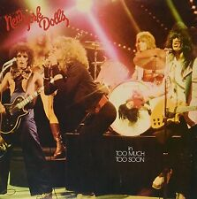 LP NEW YORK DOLLS IN TOO MUCH TOO SOON  VINYL 180G GLAM