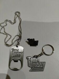 Thin lizzy Bottle Opener/Key ring /Pin Badge