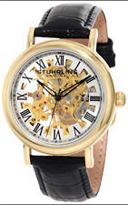 Stuhrling Original Women's Lifestyles Macbeth Mechanical Skeleton Watch Gold 294