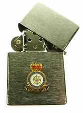 RAF ROYAL AIR FORCE STRIKE COMMAND  WINDPROOF CHROME PLATED LIGHTER