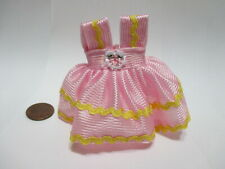 Mattel Kelly Doll Pink Ball Dress Outfit Clothes
