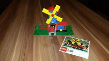 Lego 352 Legoland Windmühle mit LKW von 1972 Windmill and lorry inkl. BA vintage