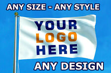 More details for custom printed personalised flag / banner | any size | any design | football