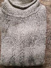 Pullover Suéter lujoso Baby Alpaca en sombreada gris-nuevo