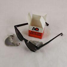 American Optical antique NOS Quick-Clip eyeglass SIDE SHIELDS.