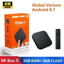 Xiaomi Mi Box S Global Version CE EU Plug 4K HDR DTS Android TV 8.1 Voice Remote