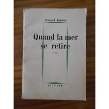 Quand la mer se retire / Lanoux, Armand / Réf10353