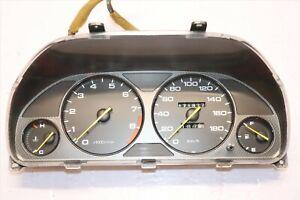 Rare JDM 97-01 Honda Prelude Type S Carbon Fiber Gauge Cluster Speedometer