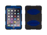 100% Genuine Griffin Survivor Tough Rugged Case Cover Blue For iPad Mini 1/2/3