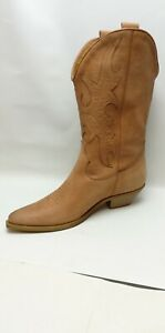 CBS - ELEGANZA LADIES WOMENS NEW LEATHER COWBOY WESTERN STYLE BOOTS SHOES BOOT