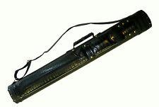 2 X 2 Hard Pool Cue - Billiard Stick Carrying Case Black 2x2