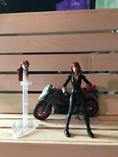 Marvel Legends BLACK WIDOW with Motorcycle action figure 6 inch Hasbro loose
