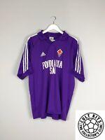 FIORENTINA 03/04 Home Football Shirt (M/L) Soccer Jersey Adidas