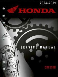 Manuale Officina completo 406 pagine Service Manual Honda CRF 250 2004 2009 ENG]