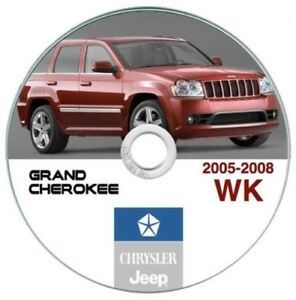 Jeep Grand Cherokee WK 2005-2010 manuale officina workshop manual