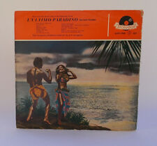 L'Ultimo Paradiso POLYDOR LP 33 giri Vinile 46 055 A Germany LAVAGNINO Sound