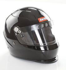 RACEQUIP PRO15 RACE HELMET FULL FACE GLOSS BLACK SNELL SA2015 P/N#273002 SMALL