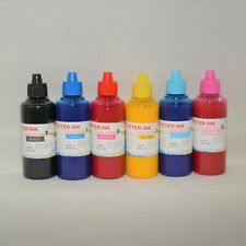 6X100ML Cotton Sublimation refill Ink alternative for Artisan XP Printer A