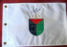 NANCY LOPEZ HOF AUTO SIGNED EMBROIDERED GOLF HOF PIN FLAG LPGA CERTIFIED