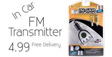 In Car iPhone FM Transmitter New And Packaged Low Price Limited Stock !!