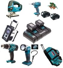 Makita Power Tool Combination Sets with 5 Tools