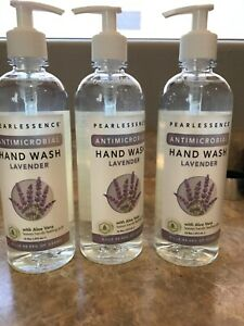 3 PEARLESSENCE LAVENDER ANTIMOCROBIAL HAND SOAP