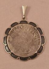 ANTIKER Madonnentaler v. 1775 A Anhänger Silber Patrona Bavariae Trachten Bayern