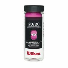 New listing Wilson 20/20 Racquetball (3 Ball Can), Pink
