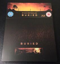 BURIED Blu-Ray SteelBook Zavvi UK Exclusive Ultra Ltd Ryan Reynolds 1/2000 Rare!