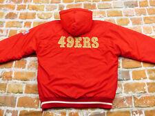 San 49ER ´ S NFL Varsity Hiver Veste Starter Vintage Rouge Taille:M Pointe Top