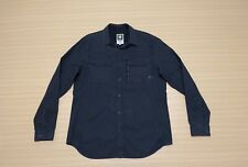 """G Star Raw Shirt Mens ~ Size 2XL ~ Great Cond """" Rackler Twill Zip """" Long Sleeves"""