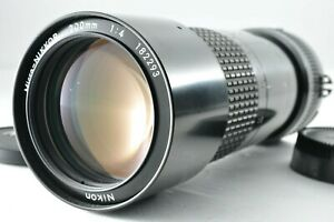 [Near Mint] Nikon Micro-NIKKOR 200mm f/4 Ai MF Prime Lens by DHL from Japan #796