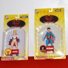 DC Direct Vengeance Power Girl & Superwoman Figure Series 4 - 5 Batman Superman