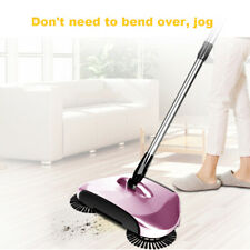 Practical Home Use Magic Floor Cleaning Mop 360 Degree Rolling Spin Self-wring Fiber Cotton Head Floor Mop Set Fashionable Style; In