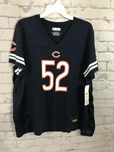 Khalil Mack #52 Chicago Bears Women's Football Jersey - Size 2XL