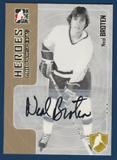 NEAL BROTEN 05-06 ITG IN THE GAME HEROES AND PROSPECTS 2005-06 AUTOGRAPH 15917