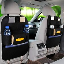 Tidy Auto Car Back Seat Multi Pocket Storage Organizer Tissue Holder Bag