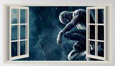 Spiderman,3D,Sticker,Kids,Decal,Bedroom,Superhero,Wall Art,Decor