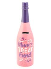 Mums treat wine cosmic decorative bottle money box present gift mother's day mum