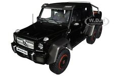 Box Dented MERCEDES BENZ G63 AMG 6x6 GLOSS BLACK 1/18 MODEL CAR BY AUTOART 76306