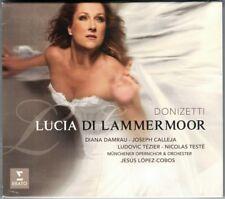 DONIZETTI LUCIA DI LAMMERMOOR Diana Damrau Joseph Calleja Tezier LOPEZ-COBOS 2CD
