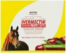 Durvet 12-Pack Ivermectin Dewormer Paste For Horses