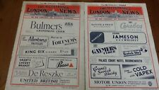 More details for 10 x illustrated london news 1944 issues 5466-67 5468-69 5471 5882-83 5413-5415