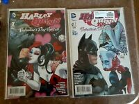 Harley Quinn Valentine's Day Special 2 comic Lot NM