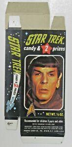 1976 Phoenix Candy Box #2 SPOCK Star Trek UNUSED near mint
