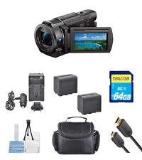 Sony FDR-AX33 4K Ultra HD Handycam Camcorder!! STARTER BUNDLE!! BRAND NEW !!