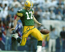Packers Punter CRAIG HENTRICH Signed 8x10 Photo #1 AUTO ~ Super Bowl XXXI Champ