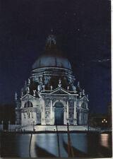 Alte Postkarte - Venedig - Nachtansicht