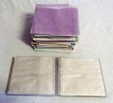 CD/DVD Disc covers various paper & plastic 130ea plus plastic folder 24ea